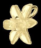 Gouden Narcis ketting hanger_