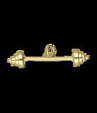 Gouden Halter groot ketting hanger_