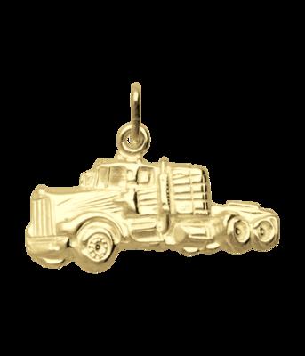 Gouden Truck zwaar ketting hanger