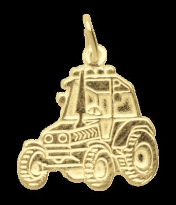 Gouden Tractor ketting hanger