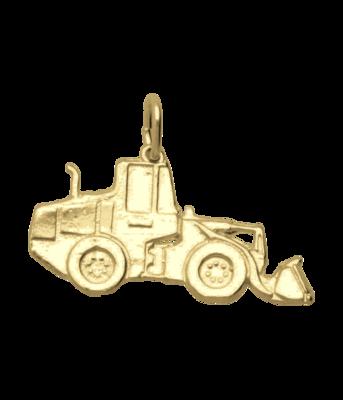 Gouden Shovel ketting hanger