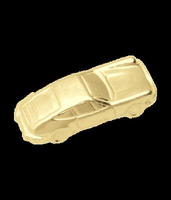Gouden Porsche ketting hanger