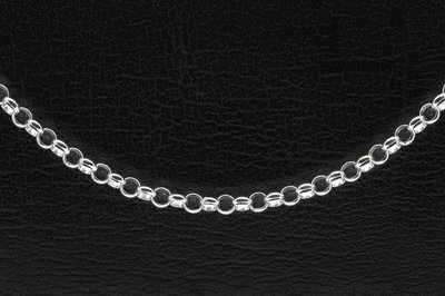 Zilveren bedel Tiener armband - 16 cm