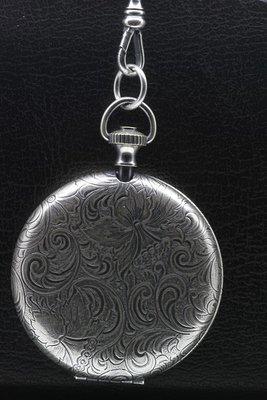 Foto medaillon Rond fantasy 2 foto's ketting hanger zwaar verzilverd