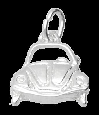 Zilveren VW Kever front ketting hanger