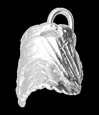 Zilveren Honkbalhandschoen middel ketting hanger