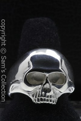 Zilveren Skull ring
