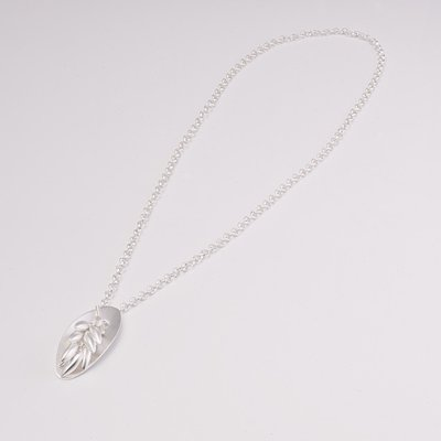Zilveren design halsketting Beatalie 57 cm
