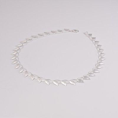 Zilveren design halsketting Caelesta 43 cm