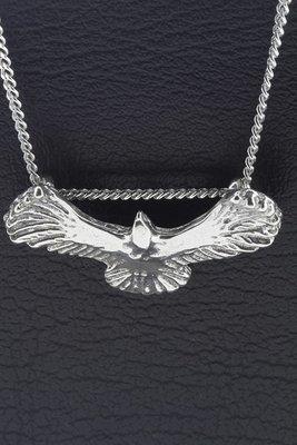 Zilveren Adelaar Wings of freedom ketting hanger