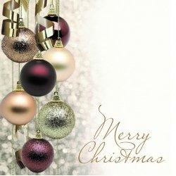 """Wenskaart """"Merry Christmas"""""""