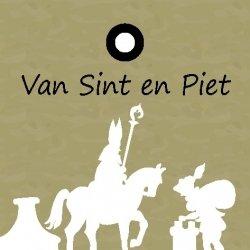 """Wenskaart """"Van Sint en Piet"""""""