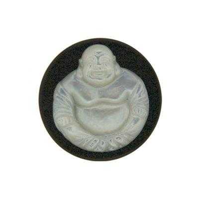 "MY iMenso M.o.P. ""buddha"" 33mm ""onyx"" insignia - uitlopend"