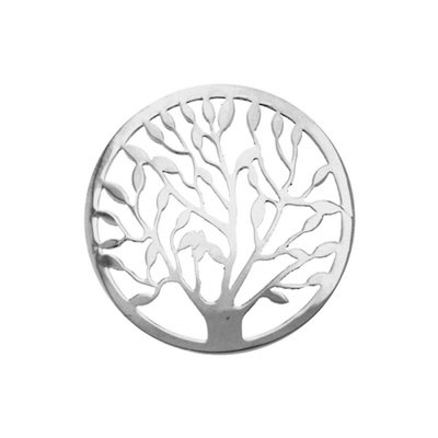 "MY iMenso ""tree of life"" cover 33mm insignia (925/rhod-plated)"