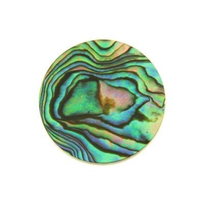"""MY iMenso """"flat abalone"""" 33mm insignia"""