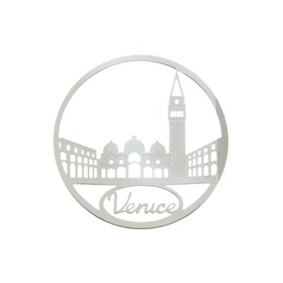 "MY iMenso ""Venice"" cover 33mm insignia (925/rhod-plated)"