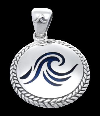 Zilveren Golf kettinghanger