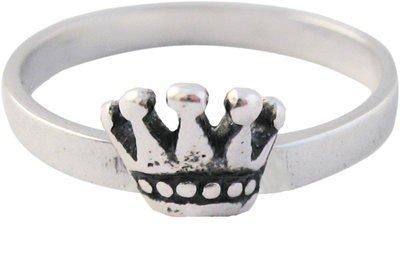 Zilveren Kinder ring maat 13 t/m 15 mm. mijn Princes
