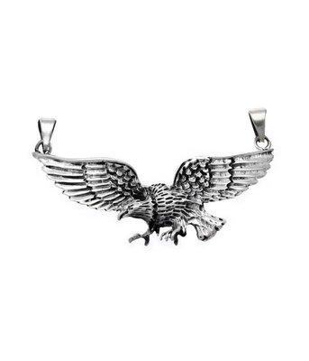 Zilveren Adelaar XL kettinghanger