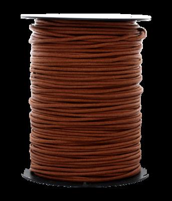 Waskoord 2.0 mm. bruin waxkoord - per 10 meter
