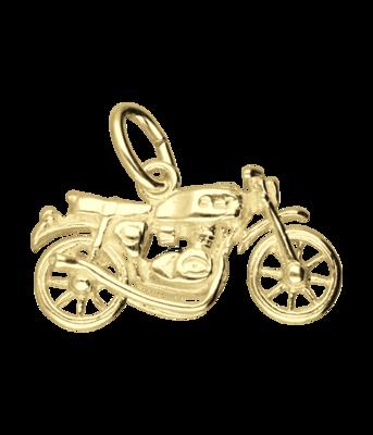 Gouden Motor kettinghanger