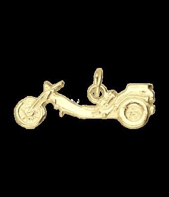 Gouden Trike motor vlak kettinghanger