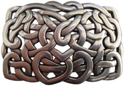Mooye Gesp Eindeloze knoop  -  te combineren met riem breedte 4 cm