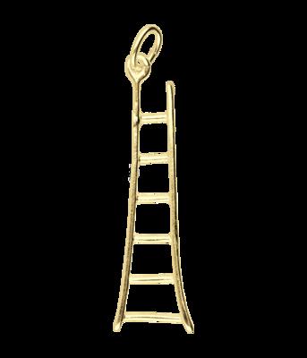 Gouden Ladder ketting hanger