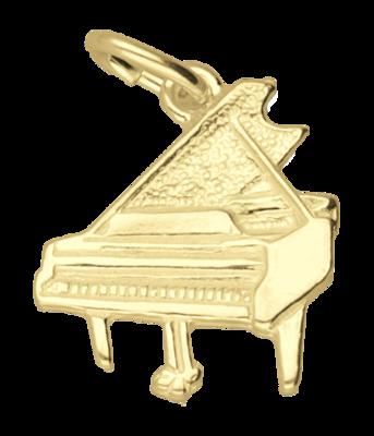 Gouden Vleugel vlak ketting hanger