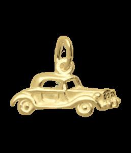 Gouden Auto antiek Oldtimer ketting hanger