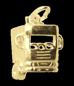 Gouden Vrachtwagen cabine ketting hanger