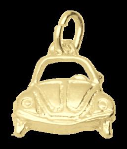 Gouden VW Kever front ketting hanger