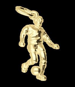 Gouden Voetballer 3 ketting hanger
