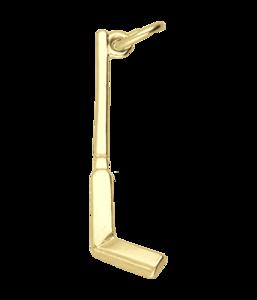 Gouden IJshockeystick ketting hanger