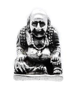 Zilveren Boeddha kettinghanger